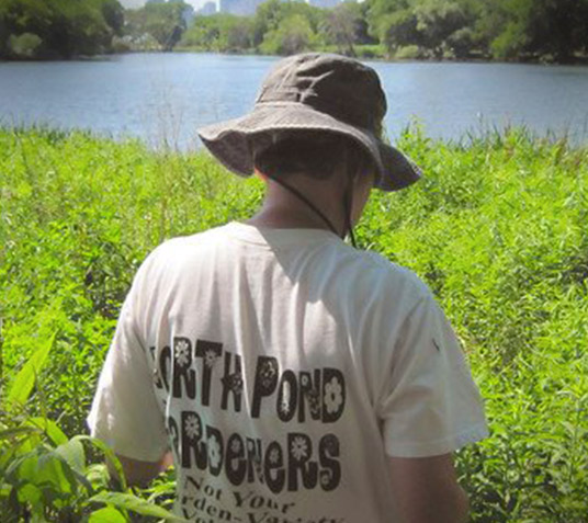 Lincoln Park Conservancy North Pond gardeners